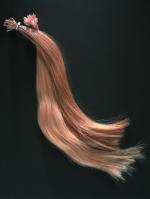 Haarsträhne Solution 10er h.br. rot 33 50 cm