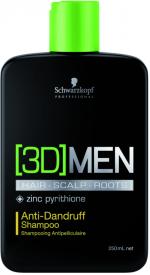 3D Men Pflege Anti-Dandruff Shampoo 250 ml