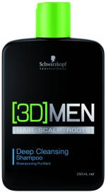 3D Men Pflege Deep Cleansing Shampoo 250 ml