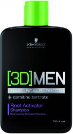 3D Men Pflege Activating Shampoo 1000ml
