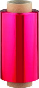 Alu Strähnenfolie extra stark, 12cmx100m, rot
