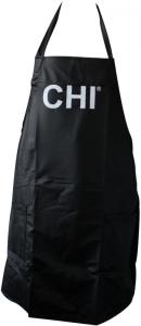 CHI Schürze schwarz mit Logo 83 x 69 cm