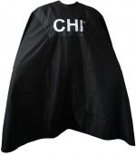 CHI Umhang schwarz mit Logo 104 x 140 cm, Haken